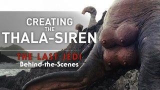 Creating the Thala-Siren - The Last Jedi Behind the Scenes (Nerdist Presents)