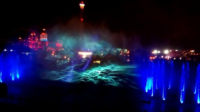 Музыкальный фонтан в Олимписком парке Сочи Адлер