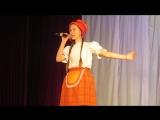 Отчётный концерт ДШИ 22.04.2018. Учащаяся 1 класса Сергеева Мария - Песня Красной шапочки.
