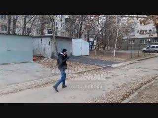 Наркоман на Каширской 18.12.2018 Ростов-на-Дону Главный