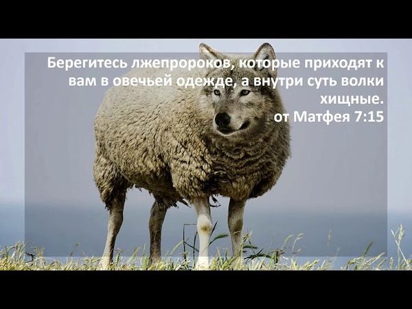 от Матфея 7:15
