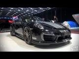 TechArt Porsche 911 Turbo S, Cayenne S Magnum, Panamera Grand GT at Geneva 2014