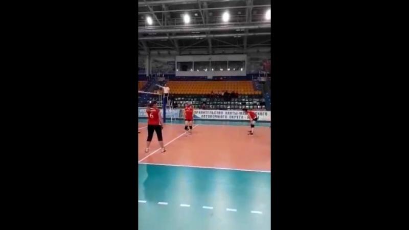 Игра с командой Ханты - Мансийска