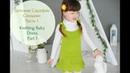 Сарафан спицами для девочки (Ч.1) /Knit dress tutorial (P.1)