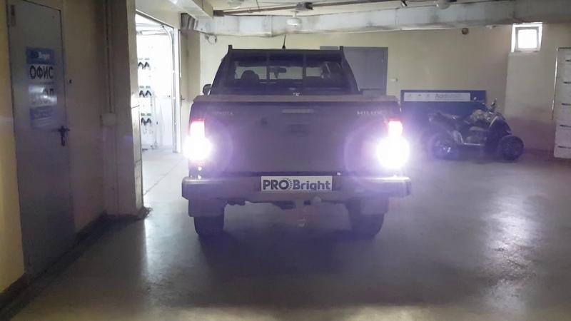 Задний ход Toyota Hilux Comet TRL RL Tau