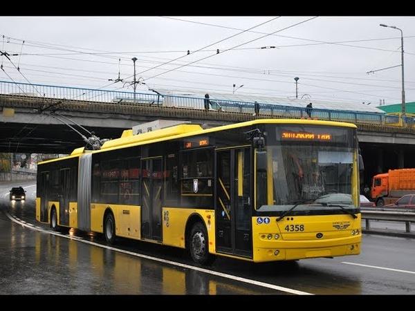 Троллейбус №30|Trolleybus №30 Вул. Кадетський гай - Вул. Милославська (1)