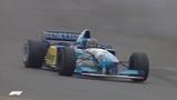 Schumacher and Alesi Duel in Germany 1995 European Grand Prix