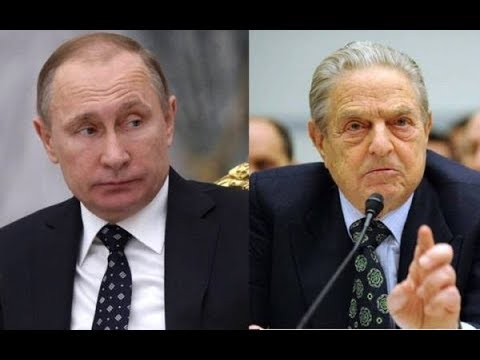 Наехал! Джордж Сорос: Путин- это Ублюдок как и все русичи! Это часть их ДНК