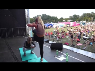 Fitness model diät training tipps mit anna nystrom _ wfd partner workout 2018