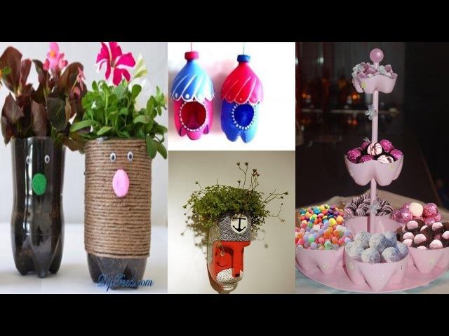 20 Plastic bottles life hacksdiy creative ways to reuse