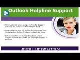 Wie Outlook Helpline Nummer 0800-184-4173 Outlook-Probleme behebt