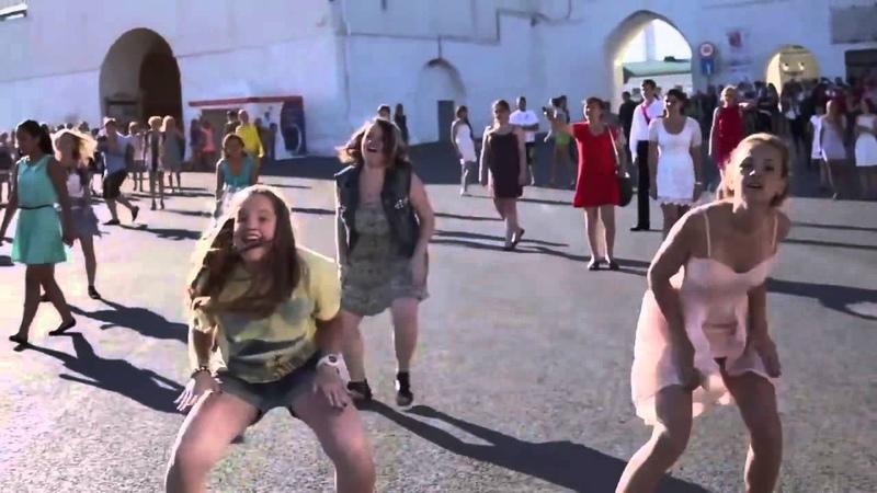 Dance Centre Level Up   Флешмоб в Казани. Свадьба у стен Кремля Flash mob in Kazan 2013
