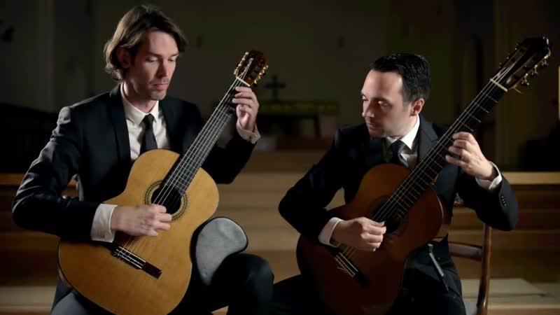 974 J. S. Bach (A. Marcello ?) - Concerto in D minor BWV 974 -The Henderson-Kolk Duo