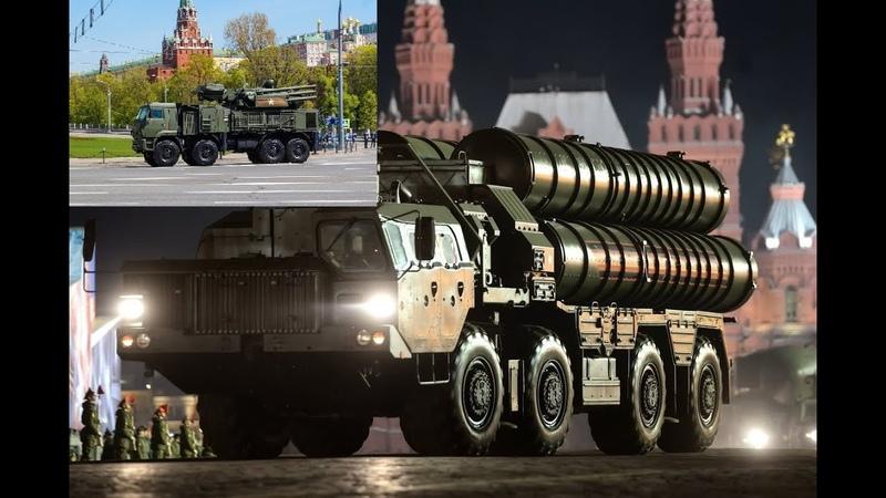 Развертывание системы ПВО Панцирь-С1 и С-400