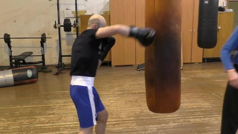 23 Поймай локоть! Усилить жёсткость удара в боксе