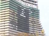Сопротивление Днепр о появлении 30-ти метрового графитти Сопротивления на фасаде гостиницы Парус