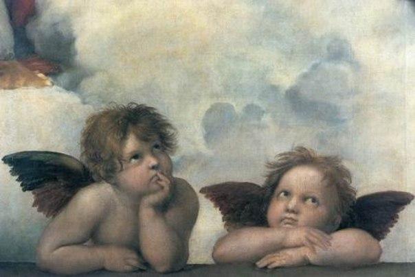 Два ангела. Притча неизвестного происхождения. Два ангела-путника остановились на ночлег в доме богатой семьи. Семья была негостеприимна и не захотела оставить ангелов в гостиной. Вместо того они были уложены на ночлег в холодном подвале. Когда они расстилали постель, старший ангел увидел дыру в стене и заделал её. Когда младший ангел увидел это, то спросил почему. Старший ответил: — Вещи не такие, какими кажутся. На следующую ночь они пришли на ночлег в дом очень бедного, но гостеприимного…