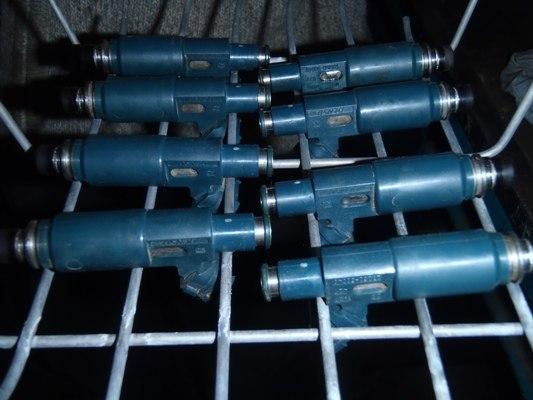 Ультразвуковая промывка бензиновых форсунок