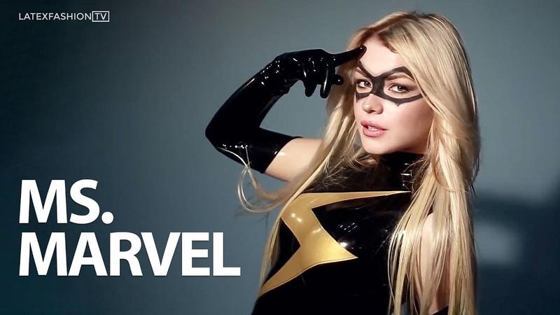 Ms. Marvel Latex Cosplay