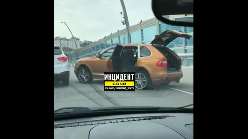 Дтп на съезде с дублера на улицу Горького 04 04 2019
