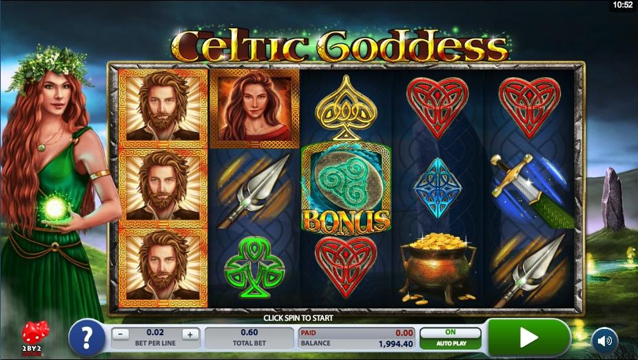 Игровые автоматы Celtic Goddess (Кельтская богиня)