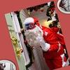 ★Новогоднее поздравление Дед Мороз в окно★