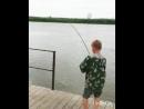 База отдыха Славянка. Юный рыбак