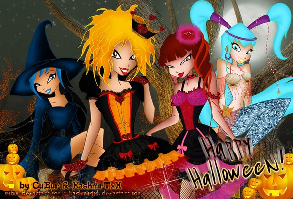 """Конкурс винкс """"Diamond"""" 1й тур+арты и игра макияж в Хэллоуин"""