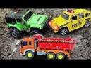 Мультик про Машинки. Машинки в грязи и Супергерои Развивающее видео для детей 3 лет