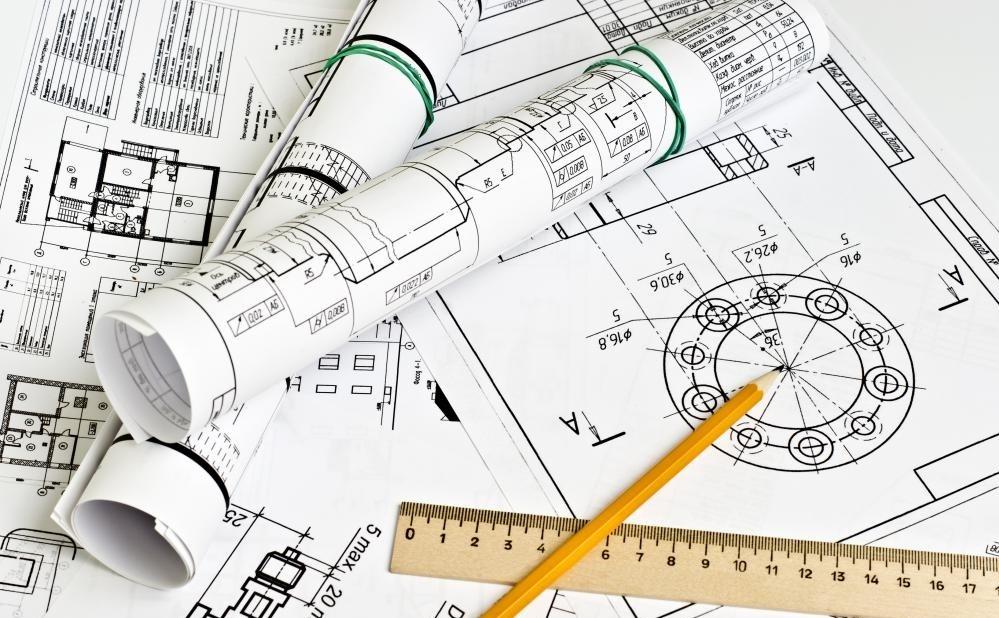 Коммерческие архитекторы могут отвечать за разработку чертежей для крупных проектов.