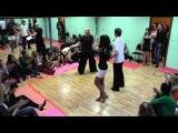1-й Новогодний Бачата-батл. 27.12.2013. Школа танцев DanceFirst. Часть 1