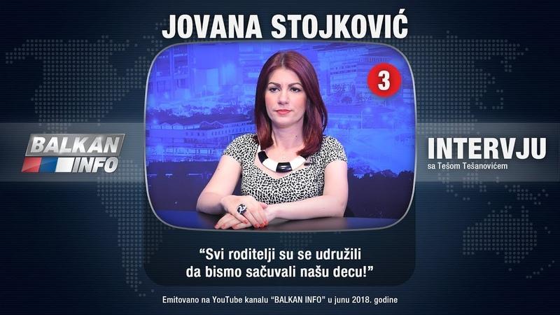 Jovana Stojković - Svi roditelji su se udružili da bismo sačuvali našu decu