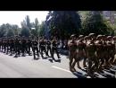 Военный парад в честь четверной годовщины освобождения Мариуполя (16 июня 2018)