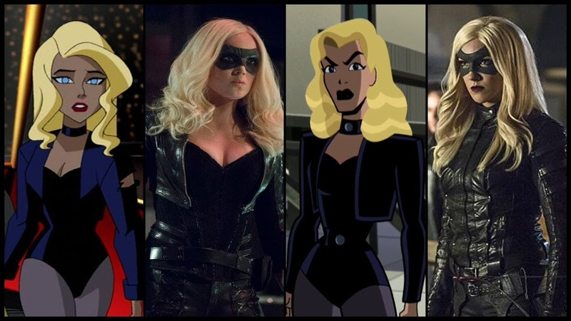 Black Canary Evolution in Cartoons TV(Dinah Drake/Laurel Lance/Sara Lance) (2018)