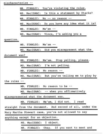 Показания Йоши Уейли, сына Джоли Левин (секретарь MJ)., изображение №23