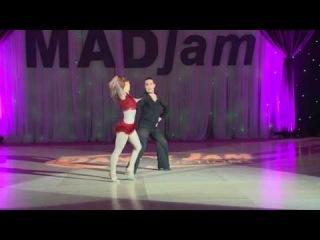 MADjam 2013 Open Hustle 2 Roberto Pagan & Kendall Pham