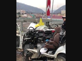 Смертельное ДТП в котором погиб водитель «ВАЗ 2104»
