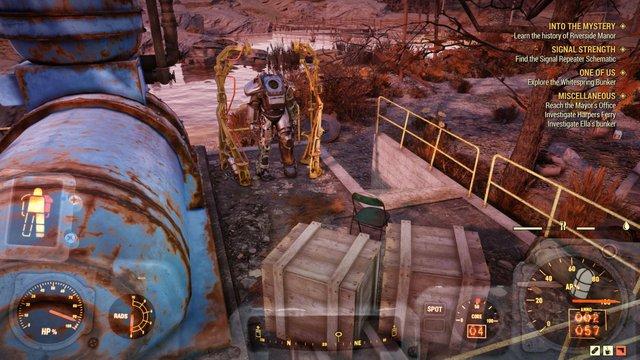 Силовая броня в Fallout 76