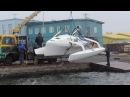 Тримаран Grampus спущен на воду! испытание №1