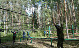 Школьники из Бибирева приняли участие в ежегодных соревнованиях по туризму