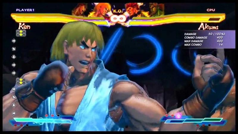 Street Fighter X Tekken Complete Cross Arts Moves Xbox 360