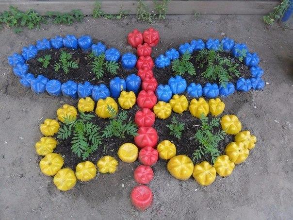 Клумбы и цветники своими руками для детского  647