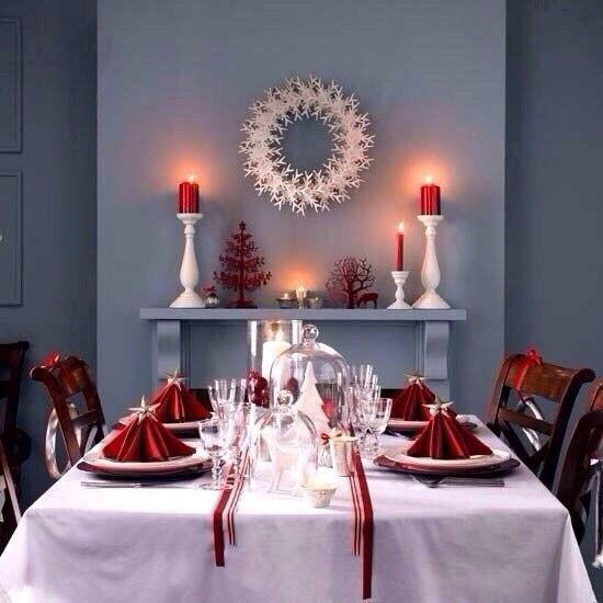 Идеи сервировки стола на новый год
