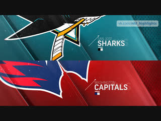 San Jose Sharks vs Washington Capitals Jan 22, 2019 HIGHLIGHTS HD