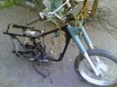 Мотоцикл Минск (голая рама и передняя вилка) .