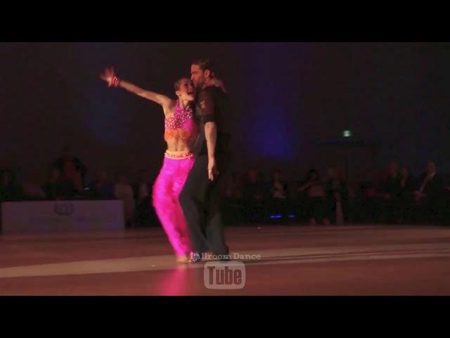 Nino Langella Andra Vaidilaite - SAMBA - Toronto Open