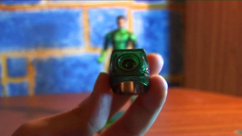 Фигурка Зеленый фонарь. Green Lantern Movie Masters Hal Jordan with BZZO ring. Mattel