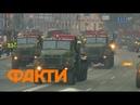 Репетиция парада 2018 авиация и тяжелая техника в Киеве