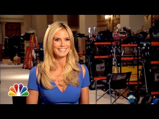 Guest Star Heidi Klum Talks Parks and Rec - Parks and Recreation