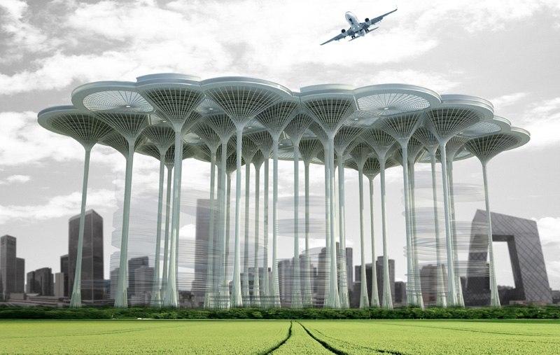 Airport Skyscraper  (Проект